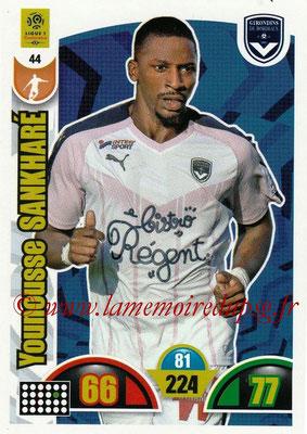 N° 044 - Younousse SANKHARE (2007-11, PSG > 2018-19, Bordeaux)