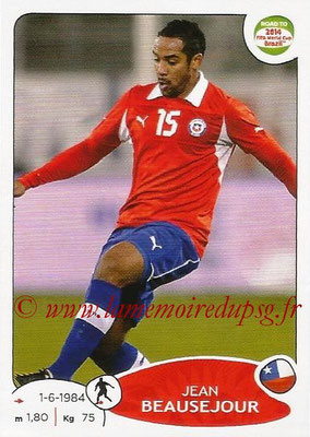 2014 - Panini Road to FIFA World Cup Brazil Stickers - N° 164 - Jean BEAUSEJOUR (Chili)