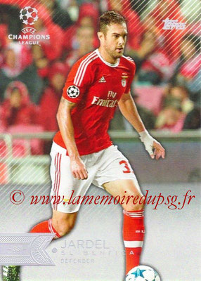 2015-16 - Topps UEFA Champions League Showcase Soccer - N° 055 - JARDEL (SL Benfica)