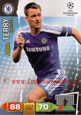 2011-12 - Panini Champions League Cards - N° 084 - John THERRY (Chelsea FC)