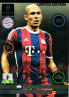 2014-15 - Adrenalyn XL champions League Update edition N° LEU-AR - Arjen ROBBEN (Bayern Munich) (Limited Edition)