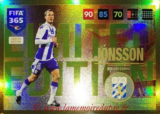 2016-17 - Panini Adrenalyn XL FIFA 365 - N° LE63 - Hjalmar JONSSON (IFK Goteborg) (Limited Edition)