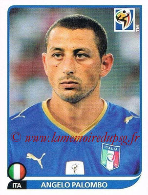 2010 - Panini FIFA World Cup South Africa Stickers - N° 419 - Angelo PALOMBO (Italie)