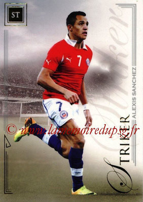 2014 - Futera World Football Unique - N° 087 - Alexis SANCHEZ (Striker)