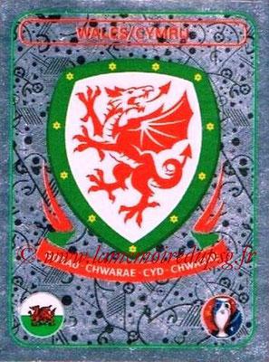 Panini Euro 2016 Stickers - N° 126 - Logo Pays de Galles