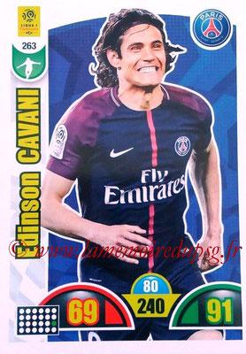2018-19 - Panini Adrenalyn XL Ligue 1 - N° 263 - Edinson CAVANI (Paris Saint-Germain)