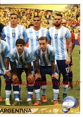 Panini Copa America Centenario USA 2016 Stickers - N° 304 - Equipe Argentine2