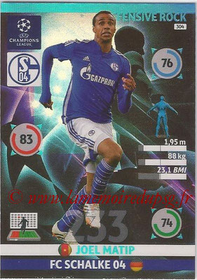 2014-15 - Adrenalyn XL champions League N° 304 - Joel MATIP (FC Schalke 04) (Defensive Rock)