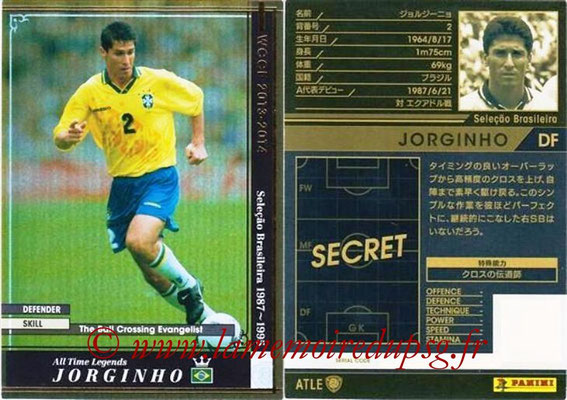 2013-14 - WCCF - N° ATLE03 - JORGHINO (Brésil) (All Time Legend)