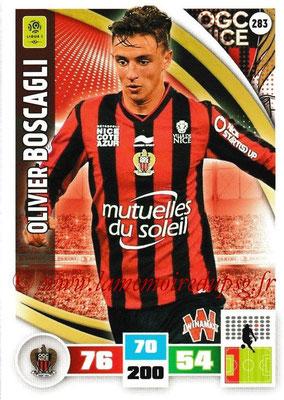 2016-17 - Panini Adrenalyn XL Ligue 1 - N° 283 - Olivier BOSCAGLI (Nice)