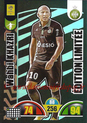2018-19 - Panini Adrenalyn XL Ligue 1 - N° LE-WK -Wahbi KHAZRI (Saint-Etienne) (Edition Limitée)