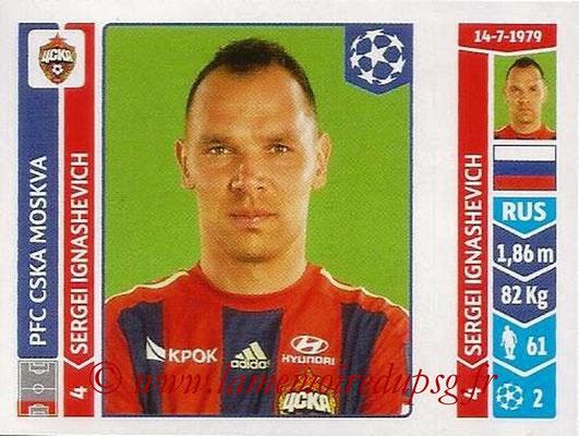 2014-15 - Panini Champions League N° 384 - Sergeui IGNASHEIVICH (PFC CSKA Moscou)