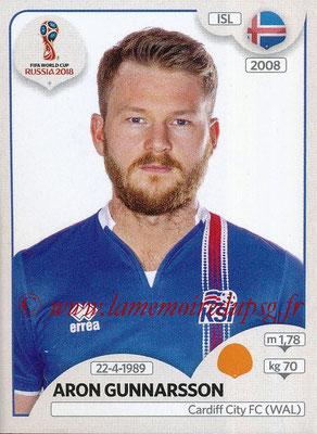 2018 - Panini FIFA World Cup Russia Stickers - N° 301 - Aron GUNNARSSON (Islande)