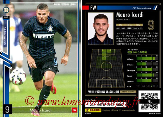 Panini Football League 2015 - PFL11 - N° 016 - Mauro ICARDI (Inter)