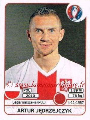 Panini Euro 2016 Stickers - N° 296 - Artur JEDRZEJCZYK (Pologne)