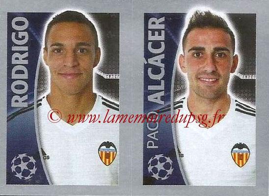 2015-16 - Topps UEFA Champions League Stickers - N° 565 - RODRIGO + Paco ALCACER (FC Valence)