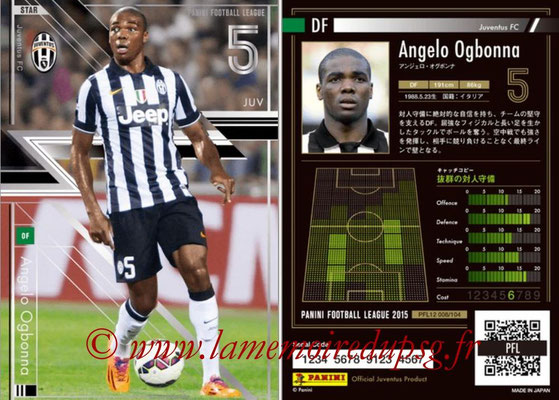 Panini Football League 2015 - PFL12 - N° 008 - Angelo OGBONNA (Juventus FC) (Star)