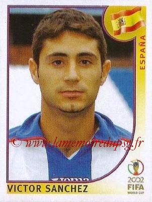 2002 - Panini FIFA World Cup Stickers - N° 108 - Victor SANCHEZ (Espagne)