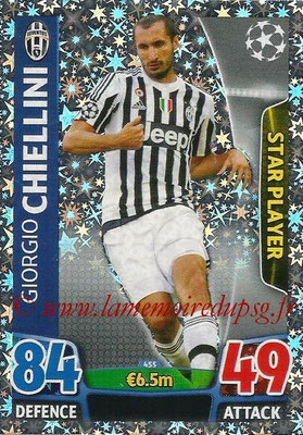 2015-16 - Topps UEFA Champions League Match Attax - N° 455 - Giorgio CHIELLINI (Juventus FC) (Star Player)