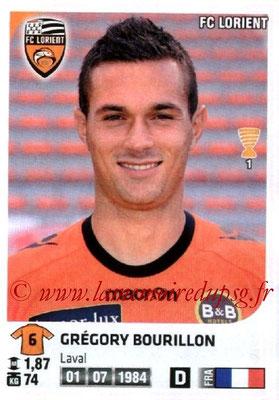 N° 152 - Grégory BOURILLON (2007-10, PSG > 2012-13, Lorient)