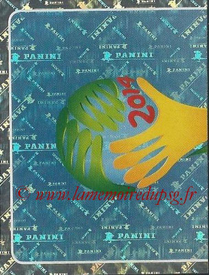 2014 - Panini FIFA World Cup Brazil Stickers - N° 002 - Logo Officiel WC 2014 (1)