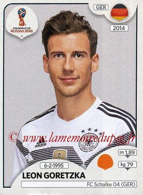 2018 - Panini FIFA World Cup Russia Stickers - N° 443 - Leon GORETZKA (Allemagne)