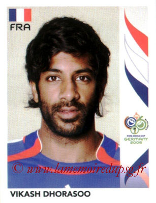 N° 462 - Vikash DHORASOO (2005-Oct 06, PSG > 2006, France)