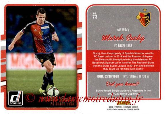 2016 - Panini Donruss Cards - N° 073 - Marek SUCKY (FC Bâle)