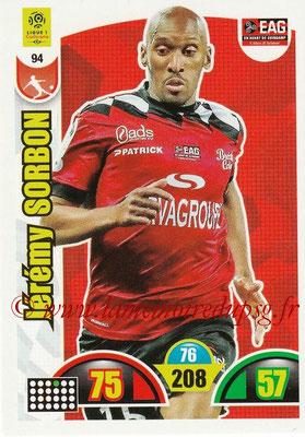 2018-19 - Panini Adrenalyn XL Ligue 1 - N° 094 - Jérémy SORBON (Guingamp)