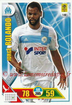 2017-18 - Panini Adrenalyn XL Ligue 1 - N° 148 - Jorge ROLANDO (Marseille)