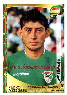 Panini Copa America Centenario USA 2016 Stickers - N° 392 - Pedro AZOGUE (Bolivie)