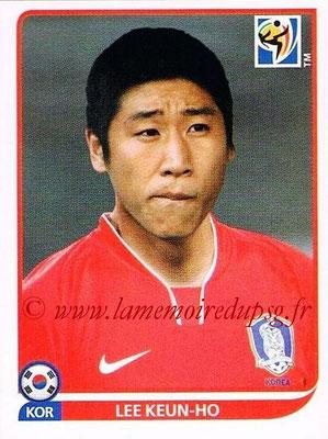 2010 - Panini FIFA World Cup South Africa Stickers - N° 162 - Lee KEUN-HO (Corée du Sud)