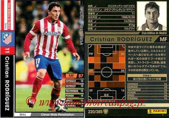 N° 220 - Cristian RODRIGUEZ (2005-Aout 2007, PSG > 2013-14, Atletico Madrid, ESP)