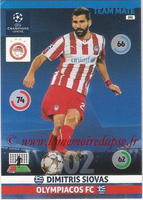 2014-15 - Adrenalyn XL champions League N° 191 - Dimitris SIOVAS (Olympiacos FC)