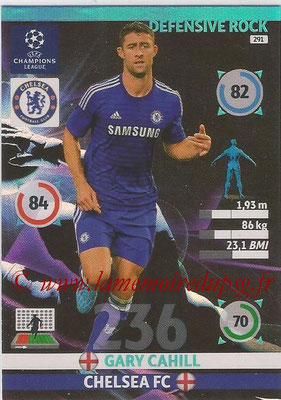 2014-15 - Adrenalyn XL champions League N° 291 - Gary CAHILL (Chelsea FC) (Defensive Rock)