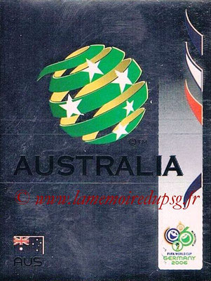 2006 - Panini FIFA World Cup Germany Stickers - N° 417 - Logo Australie