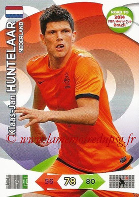 2014 - Panini Road to FIFA World Cup Brazil Adrenalyn XL - N° 137 - Klaas-Jan HUNTELAAR (Pays-Bas)