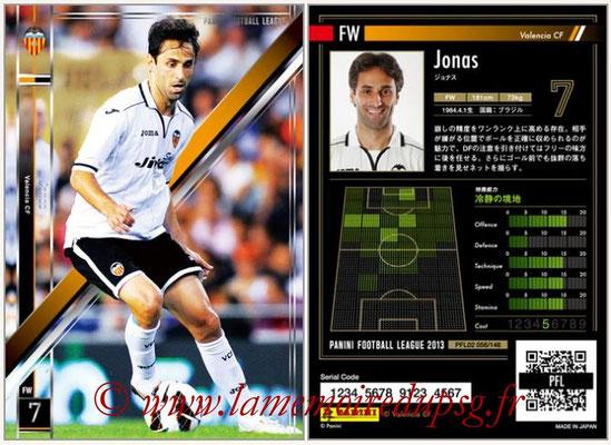 Panini Football League 2013 - PFL02 - N° 056 - Jonas ( Valencia CF )