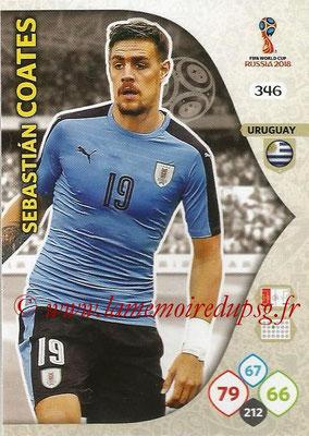 2018 - Panini FIFA World Cup Russia Adrenalyn XL - N° 346 - Sebastian COATES (Uruguay)