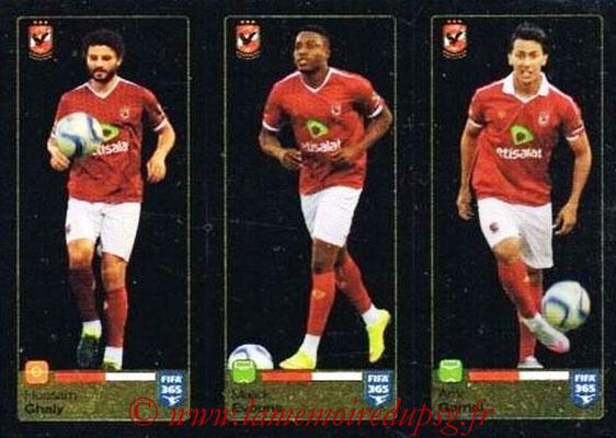 2015-16 - Panini FIFA 365 Stickers - N° 300-301-302 - Hossam GHALY + Malick EVOUNA + Amr GAMAL (Al Ahly SC)