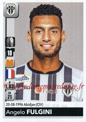 2018-19 - Panini Ligue 1 Stickers - N° 035 - Angelo FULGINI (Angers)
