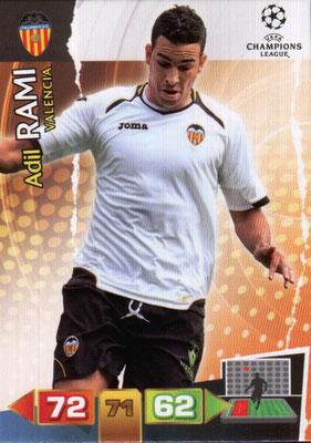 2011-12 - Panini Champions League Cards - N° 249 - Adil RAMI (FC Valence)