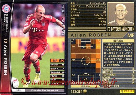 2012-13 - WCCF - N° 123 - Arjen ROBBEN (FC Bayern Munich)