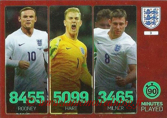 Panini England 2016 Adrenalyn XL - N° 009