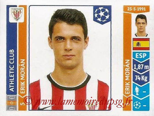 2014-15 - Panini Champions League N° 611 - Erik MORAN (Athletic Club Bilbao)
