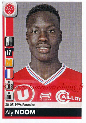 2018-19 - Panini Ligue 1 Stickers - N° 390 - Aly NDOM (Reims)