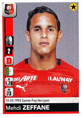 2018-19 - Panini Ligue 1 Stickers - N° 409 - Mehdi ZEFFANE (Rennes)