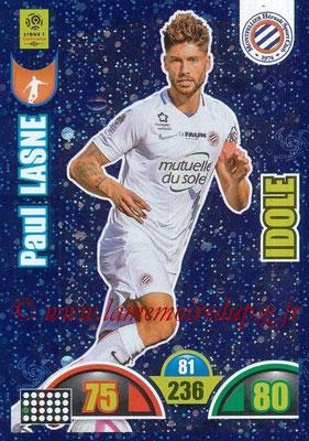 2018-19 - Panini Adrenalyn XL Ligue 1 - N° 379 - Paul LASNE (Montpellier) (Idole)