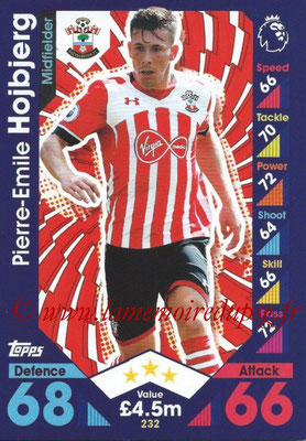 2016-17 - Topps Match Attax Premier League - N° 232