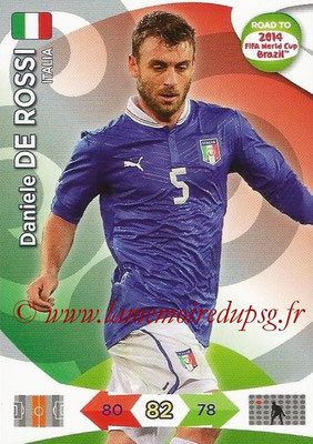 2014 - Panini Road to FIFA World Cup Brazil Adrenalyn XL - N° 122 - Daniele DE ROSSI (Italie)